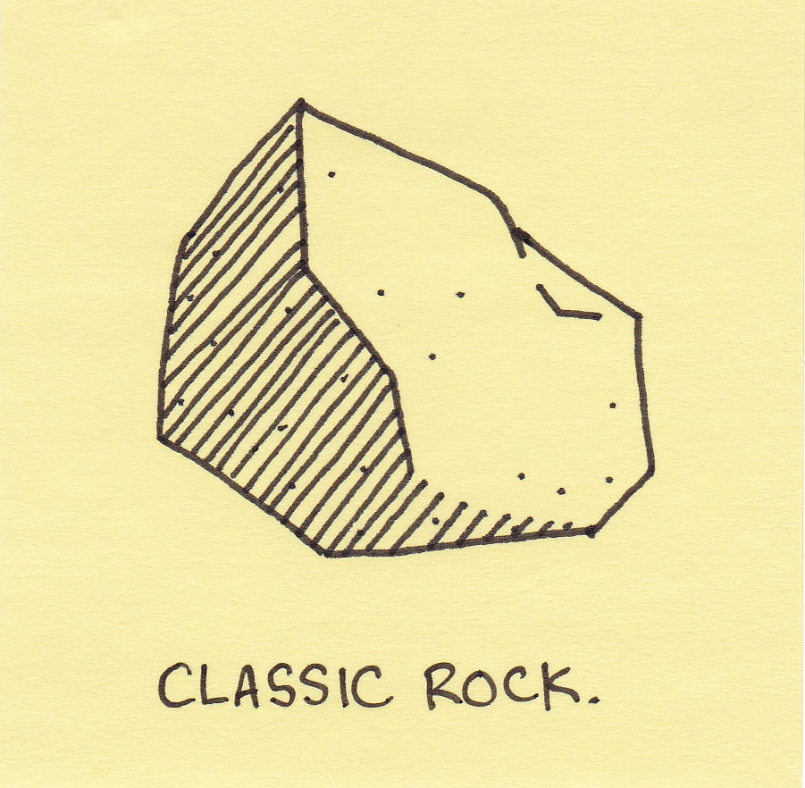 classic rock inkjot