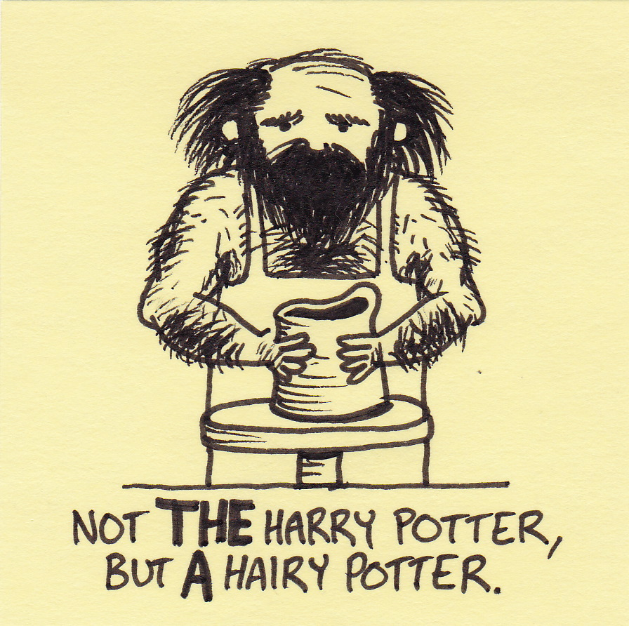 Harry potter hairy chest