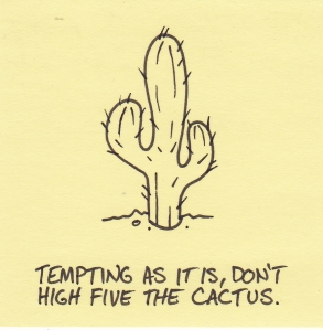 high five cactus