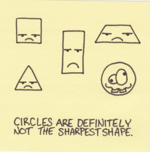circles not the sharpest shape