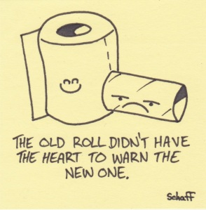 old and new rolls