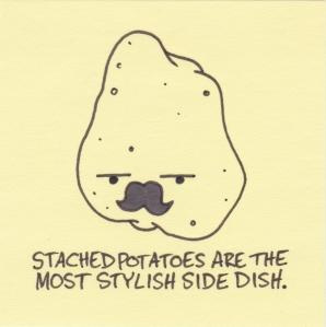 stached potatoes
