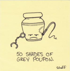 50 shades of grey poupon