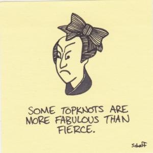 fabulous topknot