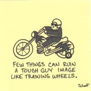 tough guy training wheels