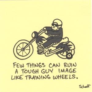 tough guy training wheels